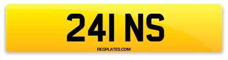 Registration 241 NS
