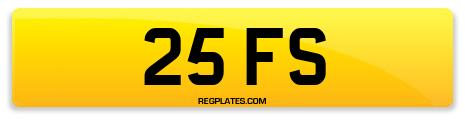 Registration 25 FS
