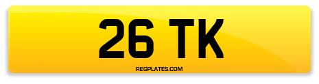 Registration 26 TK