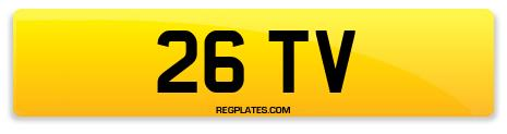 Registration 26 TV