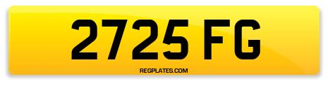 Registration 2725 FG