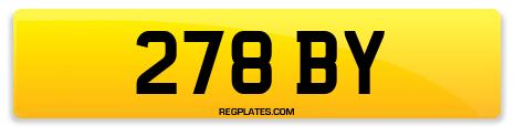 Registration 278 BY