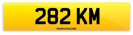 Registration 282 KM