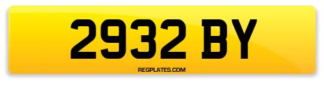 Registration 2932 BY
