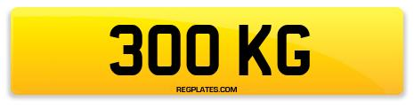 Registration 300 KG
