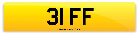 Registration 31 FF