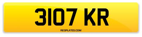 Registration 3107 KR