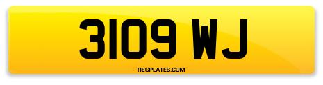 Registration 3109 WJ