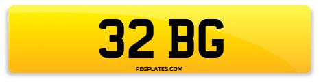 Registration 32 BG