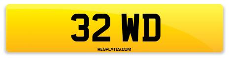Registration 32 WD
