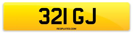 Registration 321 GJ