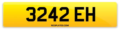 Registration 3242 EH