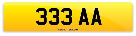 Registration 333 AA
