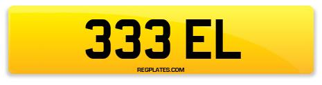 Registration 333 EL