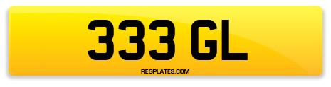Registration 333 GL