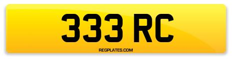 Registration 333 RC