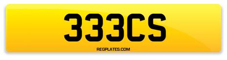 Registration 333CS