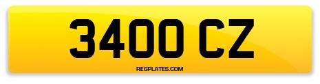 Registration 3400 CZ