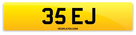 Registration 35 EJ