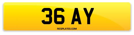 Registration 36 AY