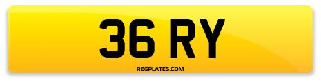 Registration 36 RY