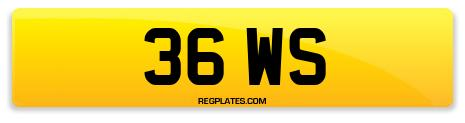 Registration 36 WS