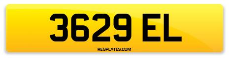Registration 3629 EL