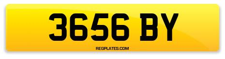 Registration 3656 BY