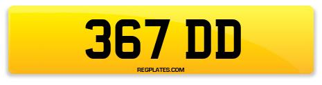 Registration 367 DD