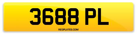 Registration 3688 PL
