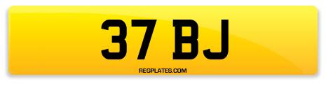 Registration 37 BJ