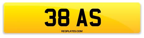 Registration 38 AS