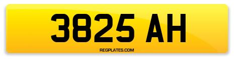 Registration 3825 AH