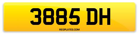 Registration 3885 DH