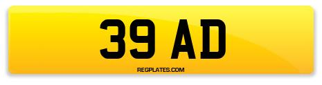 Registration 39 AD