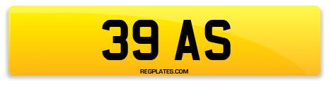 Registration 39 AS
