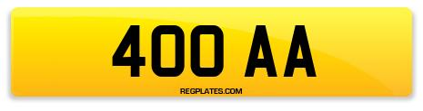 Registration 400 AA