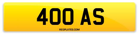 Registration 400 AS