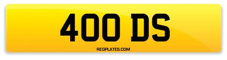 Registration 400 DS