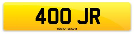 Registration 400 JR