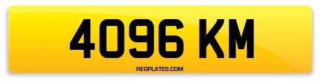 Registration 4096 KM