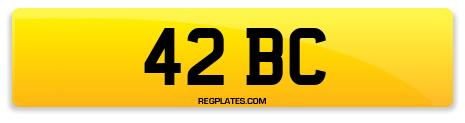Registration 42 BC