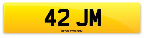 Registration 42 JM
