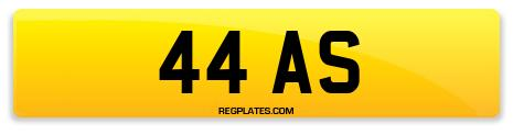Registration 44 AS