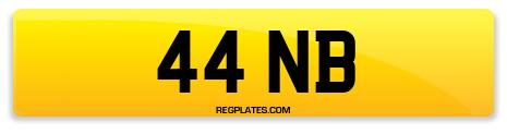 Registration 44 NB