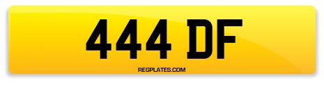 Registration 444 DF