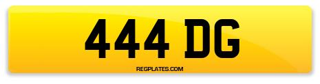 Registration 444 DG