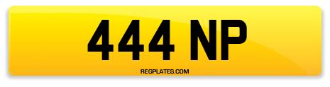 Registration 444 NP