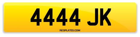 Registration 4444 JK