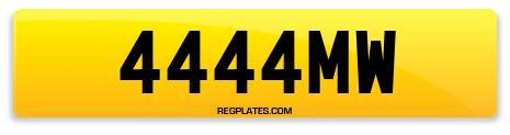Registration 4444MW